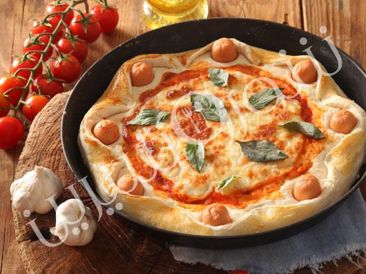 پیتزای سوسیس