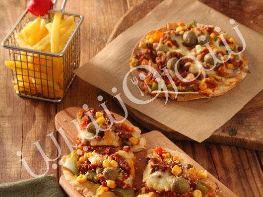 پیتزا کرپ مکزیکی