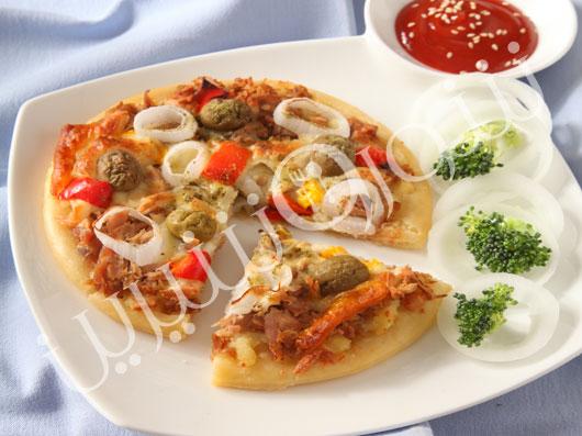 پیتزا ماهی تن