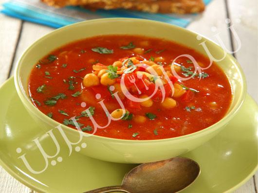 سوپ نخود مراکشی