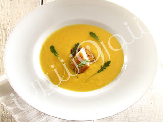 سوپ ماهی مدیترانهای