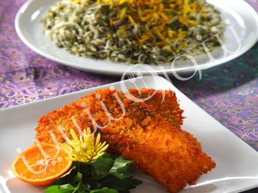 سبزیپلو با ماهی