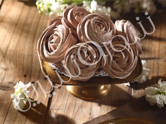 مرنگ شکلاتی
