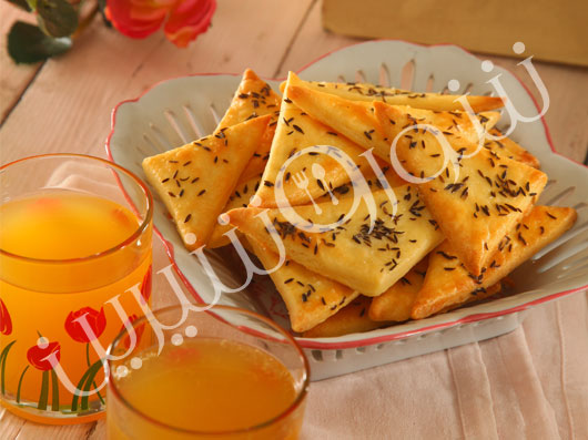 مثلثهای پنیر وزیره