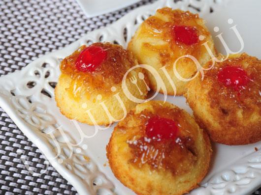 مینی کیک آناناس