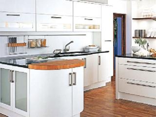 استفاده بهينه از فضــاي داخلی آشپزخانه