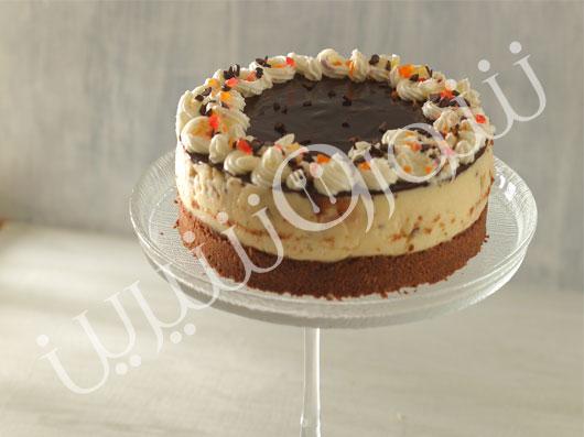 چیز کیک  شکلات سفید