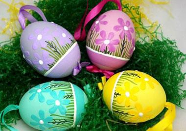 تزئین تخم مرغ مخصوص نوروز