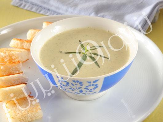 سوپ ترخون فرانسوی