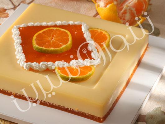 كرم دو رنگ وانیل و نارنگی