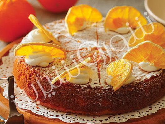 كیك پرتقال با روغن زیتون