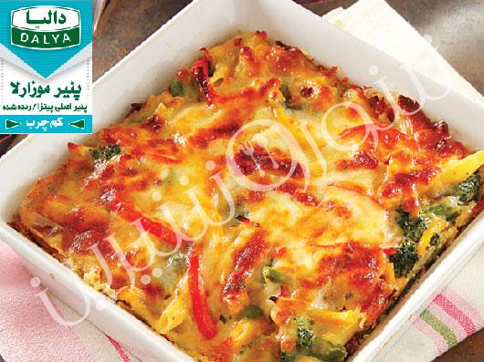 فری تاتای سبزیجات (ایتالیایی)