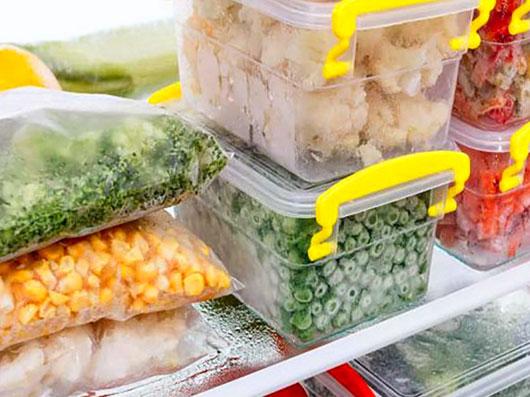اصول فریز كردن مواد غذایی