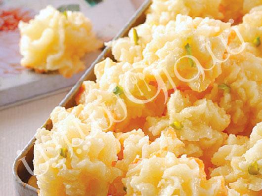 شیرینی نارگیلی شربتی