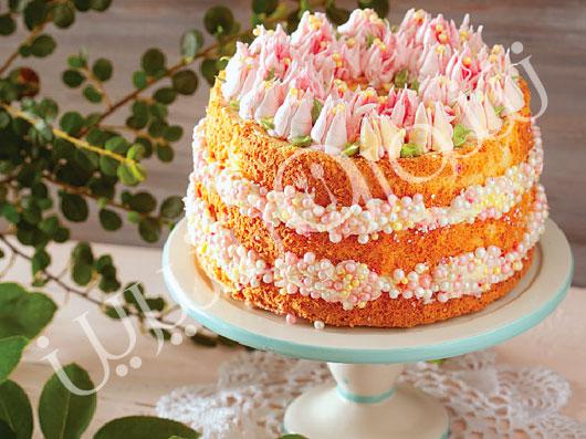 کیک فرشته (استوایی) (Tropical Angel Cake)