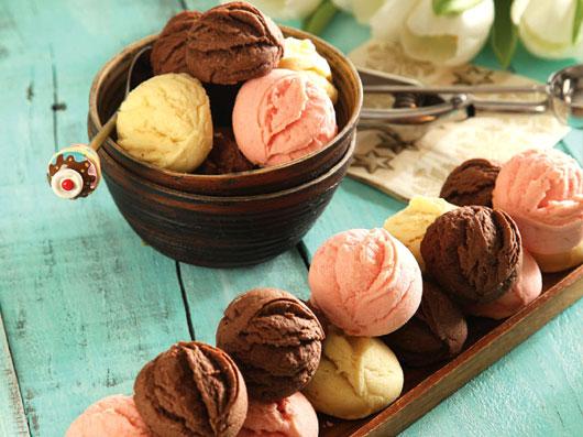 کوکی  بستنی