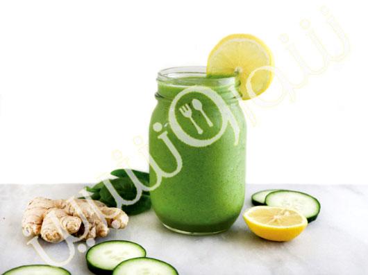اسموتی سبز لیمو