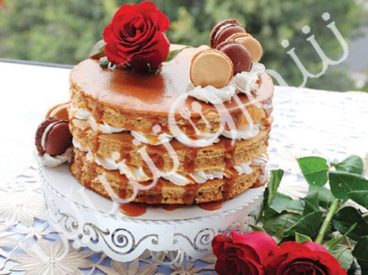 کیک  قهوه و عسلی