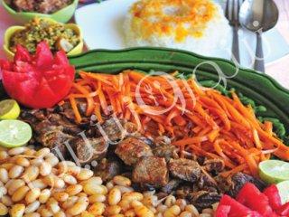 خورش هویج و لوبیا | طرز تهیه خورش هیوج و لوبیا