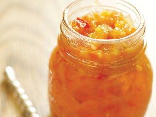 چاتنی ادویهای خرمالو و سیب