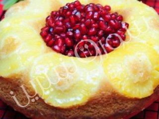 طرز تهیه كیك حلقهای آناناس