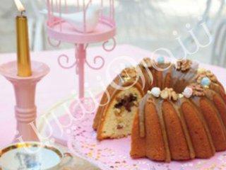 کیک سیب و كارامل | طرز تهیه کیک سیب