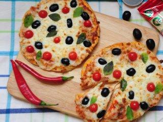پیتزای گوجهفرنگی برشته با چیلی