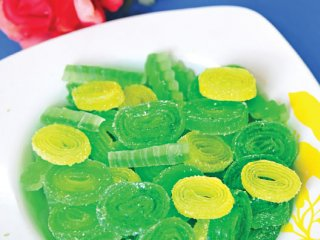 طرز تهیه پاستیل میوهای