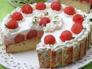 کیک هندوانه | طرز تهیه کیک هندوانه