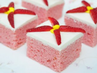 طرز تهیه كیك ژلهای | آموزش پخت کیک