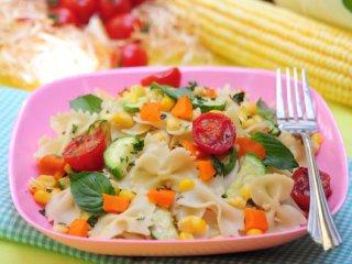 خوراك  پاستای تابستانی