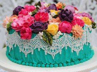 کیک بوکت | Bouquet cake