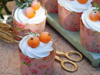 کاپ کیک پرتقال