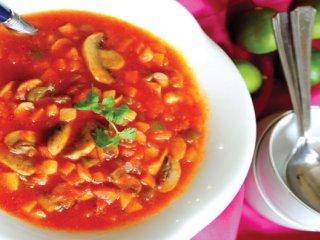سوپ گوجهفرنگی