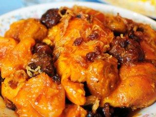 خوراك مرغ عسلی