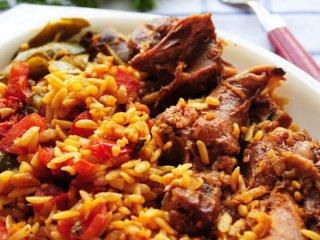 خوراك پاستا با ماهیچه