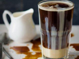 شیرقهوه خنک وانیلی