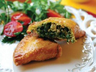پیراشكی مرغ و سبزی