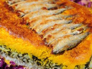 ته چين ماهی كیلكا