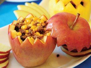 دلمه سیب درختی | طرز تهیه دلمه سیب درختی