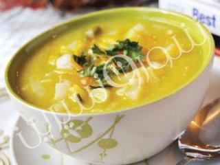 سوپ ترهفرنگی و شلغم
