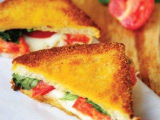 ساندویچ پنیر گرم