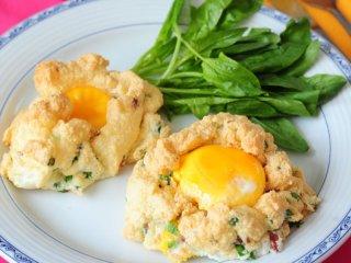 املت تخممرغ و ژامبون