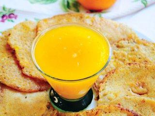 پن كیك با سس پرتقال