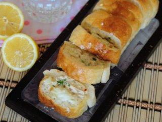 ساندویچ تنوری مرغ و پنیر