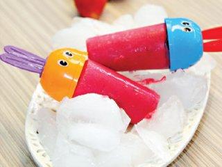 بستنی یخی توتفرنگی | طرز تهیه بستنی