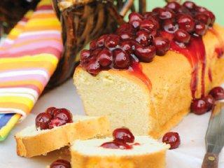 طرز تهیه کیک تر آلبالو