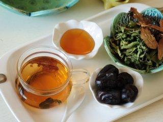 چای به لیمو و زیرفون