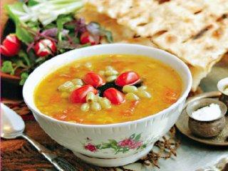 آبگوشت غوره و گوجه فرنگی (گرمسار)