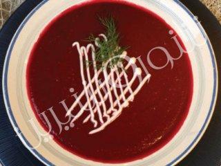 سوپ لبو و سیب